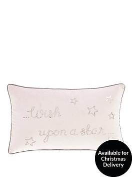 catherine-lansfield-wish-upon-a-star-cushion