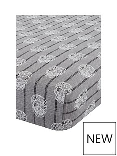 catherine-lansfield-skulls-single-fitted-sheet
