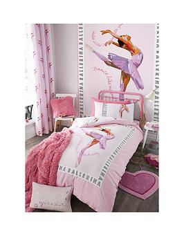 catherine-lansfield-ballerina-double-duvet-cover-set