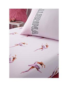 catherine-lansfield-ballerina-fitted-sheet