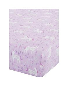 catherine-lansfield-folk-unicorn-single-fitted-sheet
