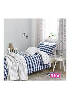bianca-cottonsoft-bianca-cottonsoft-gingham-print-double-duvet-set