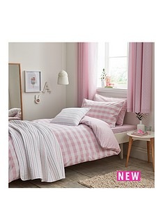 bianca-cottonsoft-bianca-cottonsoft-gingham-print-double-duvet-set