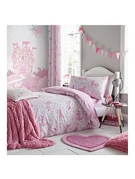 catherine-lansfield-folk-unicorn-eyelet-curtains
