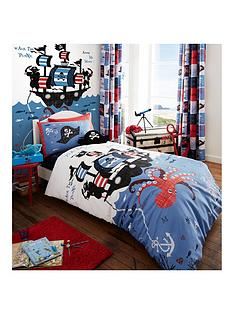 catherine-lansfield-pirate-ship-single-duvet-cover-set