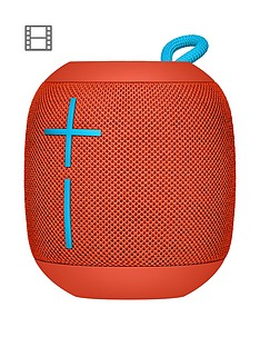 Ultimate Ears WONDERBOOM Portable Bluetooth® Speaker - Fireball Red