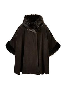 v-by-very-girls-fleece-faux-fur-trim-cape-8-14-years