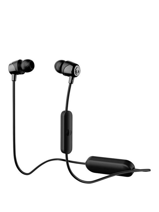 916c97ddb6c Skullcandy JIB Wireless Bluetooth In Ear Headphones with built-in Microphone  - Black/Black