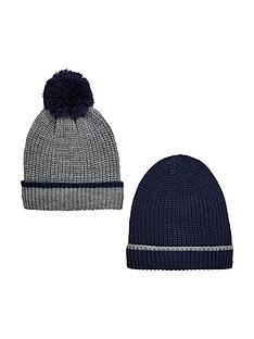 v-by-very-boys-knitted-hats-navygrey-8-14-years-2-pack