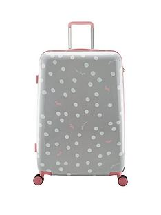 radley-vintage-dog-dot-grey-4-wheel-large-case
