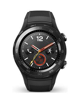 Huawei Watch 2 Bluetooth 4G Sport Smartwatch For Android &Amp; Ios - Black thumbnail