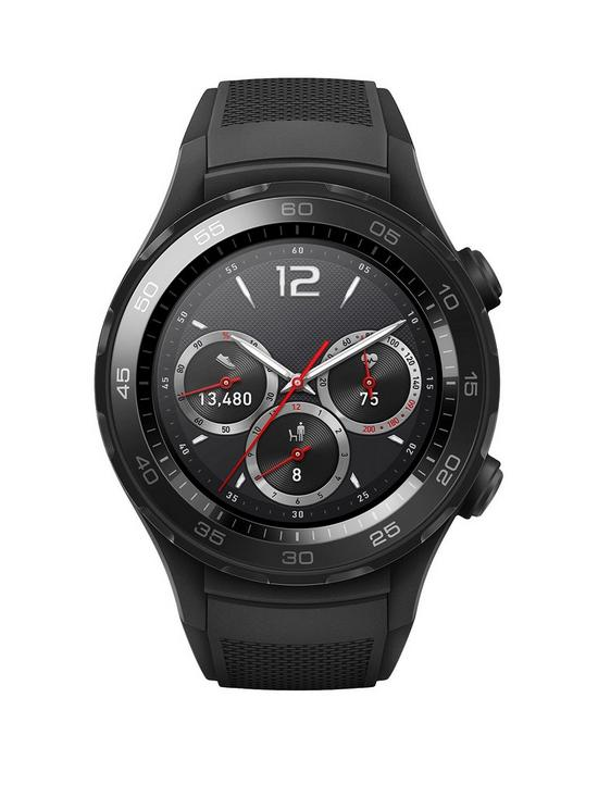 174a19cf13c9f Huawei Watch 2 Bluetooth® Sport Smartwatch for Android and iOS - Black