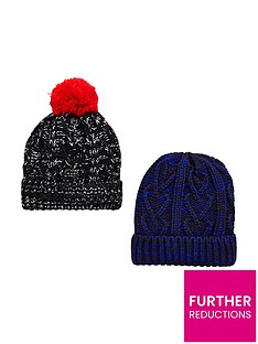 v-by-very-boys-bobble-hats-2-pack