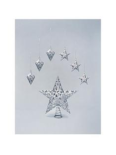christmas-tree-topper-and-decoration-set-silver-7-piece