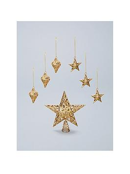 christmas-tree-topper-and-decoration-set-gold-7-piece