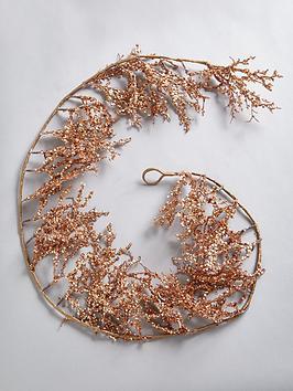 rose-gold-glitter-christmas-garland