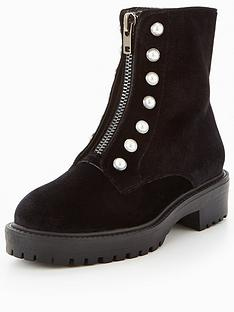 v-by-very-pearl-detail-biker-boot-black