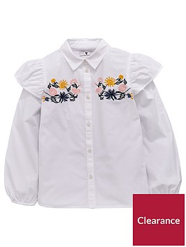 v-by-very-girls-embroidered-floral-ruffle-shirt