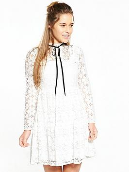 v-by-very-petite-lace-tiered-dress