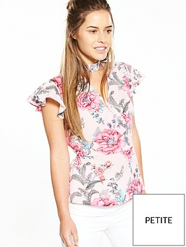 v-by-very-petite-frill-wrap-blouse