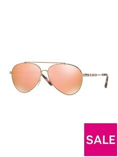 burberry-aviator-style-sunglasses-orange