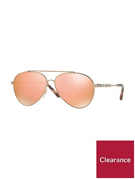 burberry-aviator-style-sunglasses-orange