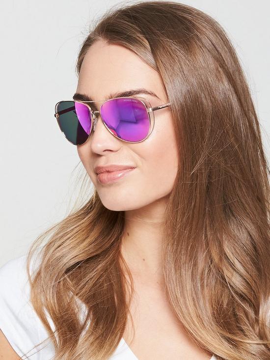079ae8a9666c MICHAEL KORS Cut Out Sunglasses | very.co.uk