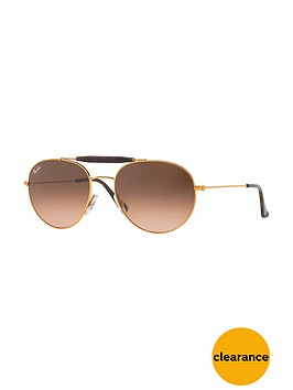 ray-ban-gradientnbsplens-aviatornbspsunglasses-copper