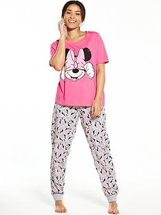 minnie-mouse-bow-pyjama-set