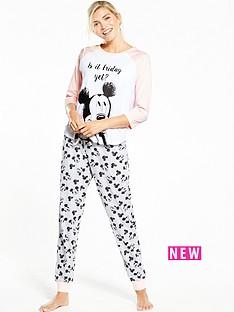 v-by-very-mickeynbspmouse-is-it-friday-yet-pyjama-set