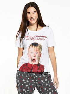 v-by-very-home-alone-merry-christmas-pyjama