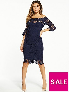 paper-dolls-paper-dolls-navy-lace-barodt-flute-sleeve-midi-dress