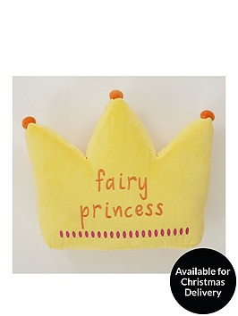 catherine-lansfield-fairy-princess-crown-cushion
