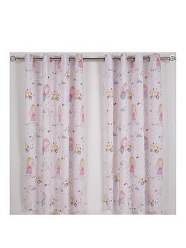 catherine-lansfield-fairy-princess-eyelet-curtains