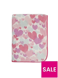catherine-lansfield-pastel-hearts-cosy-throw