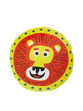 catherine-lansfield-circus-fun-lion-shaped-cushion