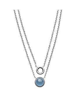 skagen-stainless-steel-polished-blue-sea-glass-multi-strand-ladies-necklace