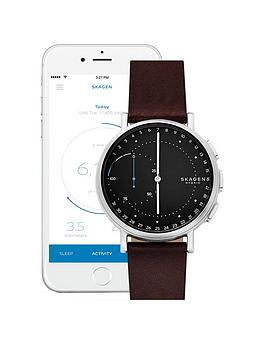 skagen-skagen-signatur-connected-hybrid-brown-leather-strap-men039s-smartwatch