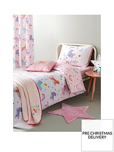 catherine-lansfield-magical-unicorns-cotton-rich-duvet-covernbsp