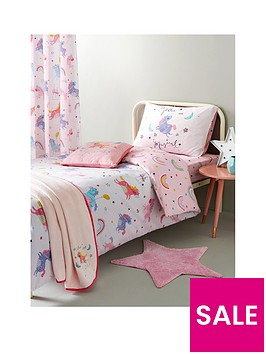 catherine-lansfield-magical-unicorns-double-duvet-cover-set