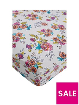 catherine-lansfield-floral-birdcage-cotton-rich-fitted-sheet