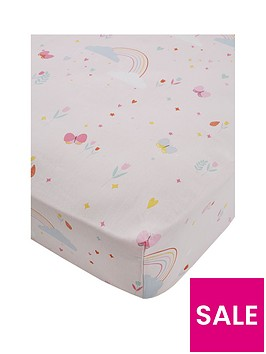 catherine-lansfield-fairy-princess-single-fitted-sheet