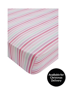 catherine-lansfield-pastel-hearts-cotton-rich-fitted-sheet