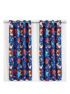 catherine-lansfield-circus-fun-eyelet-curtains