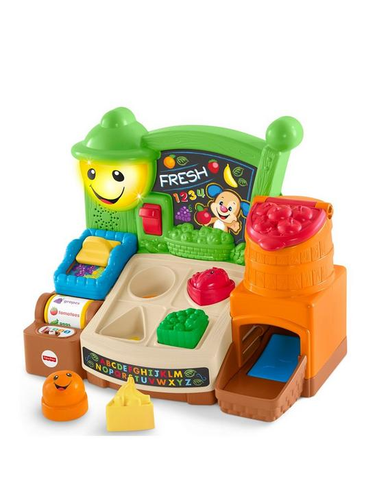 Fisher Price Laugh Learn Fruits Fun Learning Market