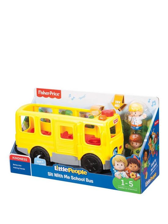 Fisher-Price Little People Sit with Me School Bus | very.co.uk