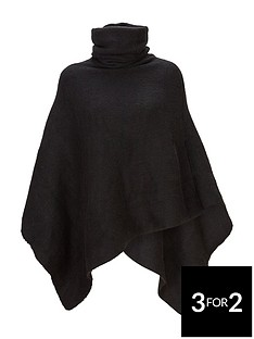 v-by-very-cowl-neck-poncho