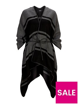 v-by-very-rope-belted-cape-stripe