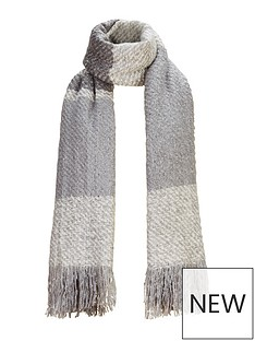v-by-very-lurex-thread-blanket-scarf-grey