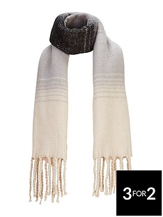v-by-very-mono-brushed-ombre-scarf